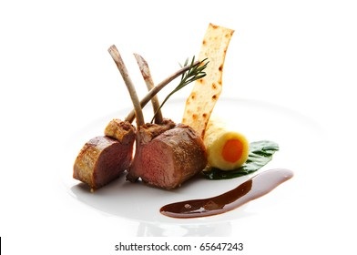 Baked lamb