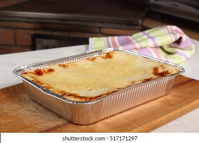 Baked Lasagne Bolognese in Disposable Foil Dish