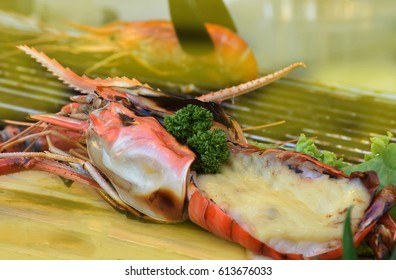 baked lobster cheese