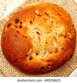 Baked Onion Roll