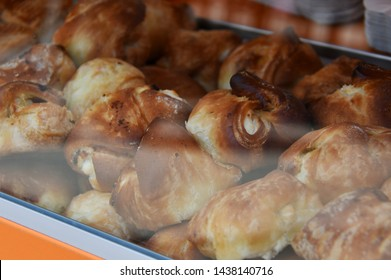 baked pastry baked with fresh sweet golden brown