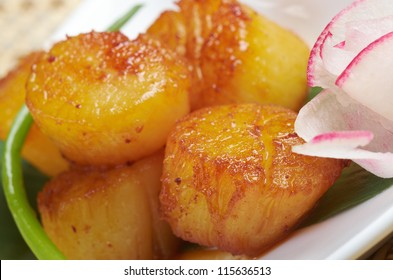 Baked scallops. traditional japanese food