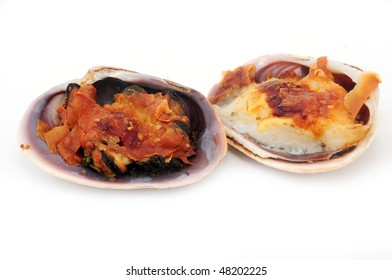 baked sea bass in the shell