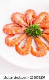 Baked Shrimp with Salt