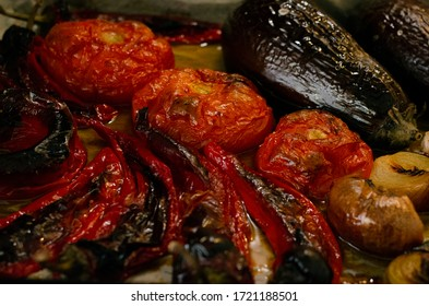 Baked Vegetables in the Oven at Home