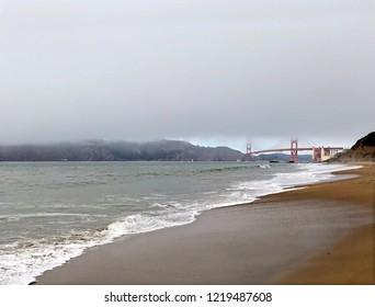Baker Beach with Golden Gate Bridge, San Francisco
