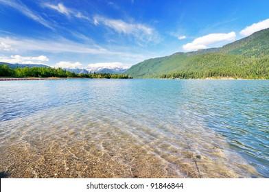 The Baker lake view