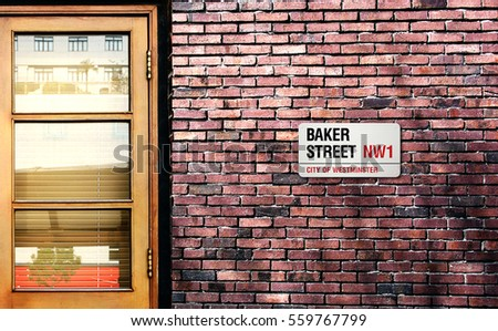 Baker street sign The