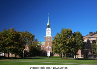 Baker-Berry Library, Dartmouth College in early fall, Hanover, NH, USA
