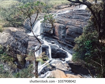 Baker's Falls is a famous waterfall in Sri Lanka.