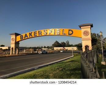 Bakersfield sign landmark