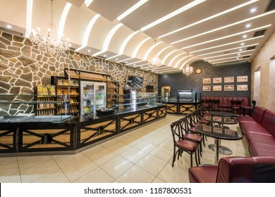 Bakery cafe restaurant interior