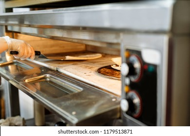 baking in the oven