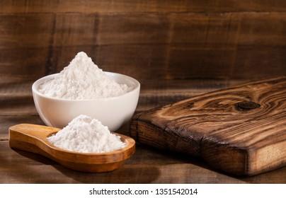 Baking soda (Sodium bicarbonate) Top view