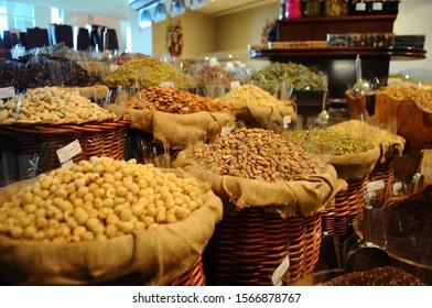 Baklava arabic sweets in Dubai UAE