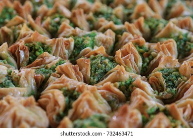 Baklava on the oriental market Carmel, Tel Aviv, Israel