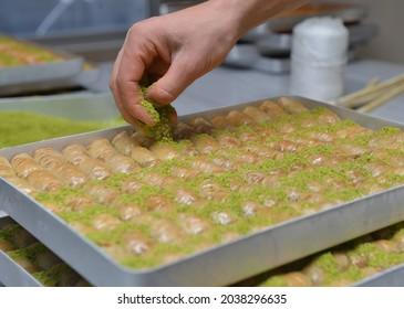 baklava fıstık usta tatlı delicious