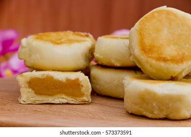 bakpia butter scotch, Indonesian traditional cake