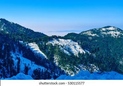 Bakrota Hills of Dalhousie Himachal Pradesh India