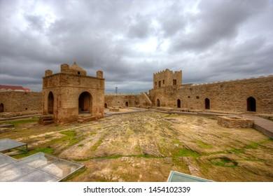 "The Baku Ateshgah often called the ""Fire Temple of Baku"" is a castle-like religious temple in Surakhani town (in Suraxanı raion), a suburb in Baku, Azerbaijan."