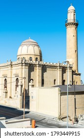 Baku, Azerbaijan – August 6, 2020. Imam Hussein mosque, also known as Tovbe mosque, in Baku. The mosque was built in 1896 by Adolf Eichler's design.