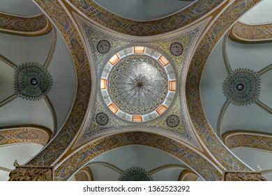 Baku, Azerbaijan - May 1, 2018. Juma Mosque in Baku, Azerbaijan dating from 11th century.