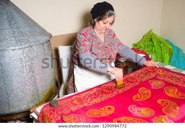 Baku Azerbaijan18 May 2018 Female Master The Arts Stock Image 1290984772