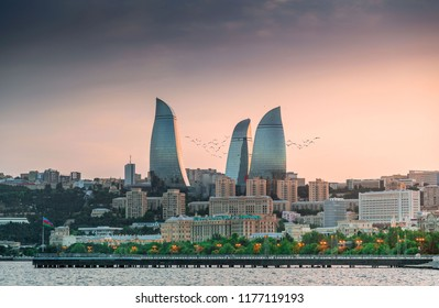 Baku the capital of Azerbaijan