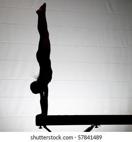 balance beam silhouette
