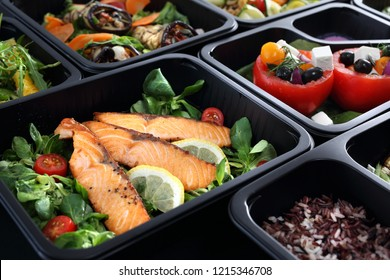 Balanced box diet. Menu suggestions in catering with delivery.