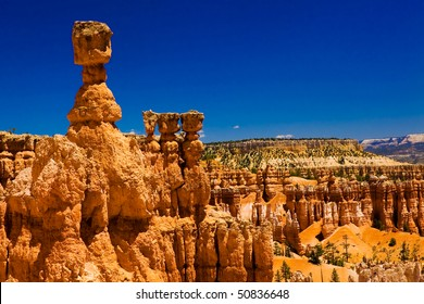 balanced rock in bryce canyon national park