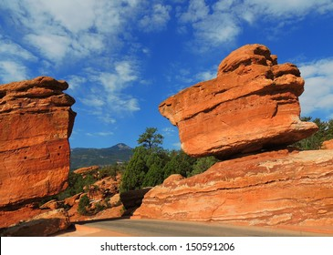 Balanced Rock Colorado Images Stock Photos Vectors