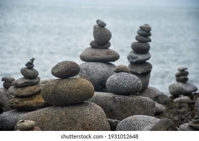 Balancing Rocks near Cairns, Australia