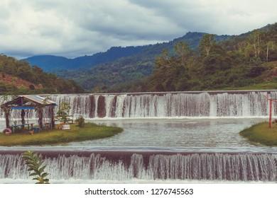 balang malino dam  waterfall landscape photography
