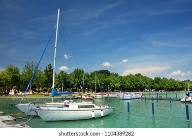 Balaton Fured resort, Hungary, Europe