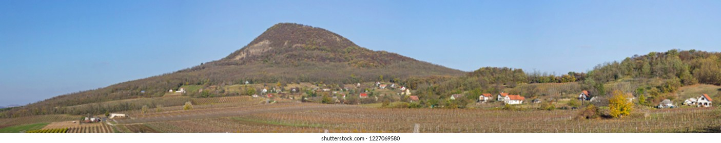 Balaton highland, Badacsony vine region. Gulacs hill.