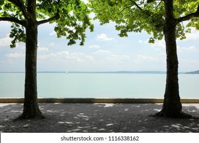 Balaton Lake in Hungary, Europe