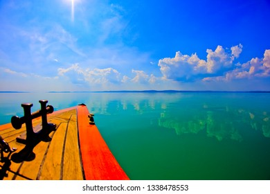 Balaton sailing boat