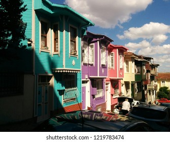 Balat's colorful houses / Istanbul