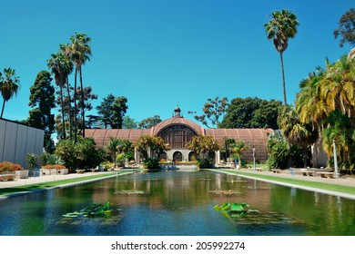 Balboa Park in San Diego with architecture.