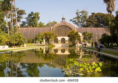 Balboa Park San Diego California Botanical Gardens Building USA (exclusive at shutterstock)