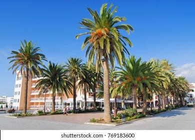 Balcon De Europa, Nerja, Axarquia Region, Andalusia, Spain