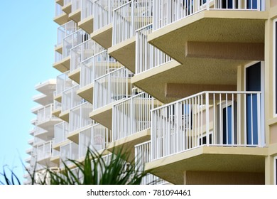 Balconies with ocean view from Florida