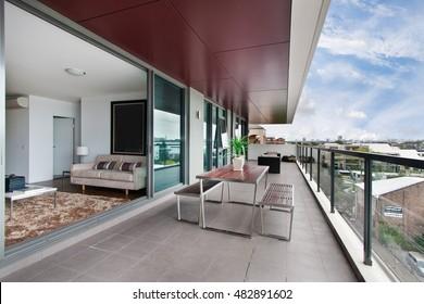 Balkon mit ausgezeichneter Aussicht