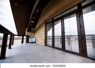 balcony balcony of the house
