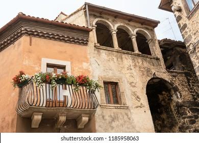 Balcony of Scanno in Abruzzo (Italy)