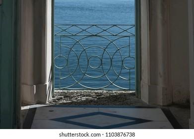 Balcony at the sea