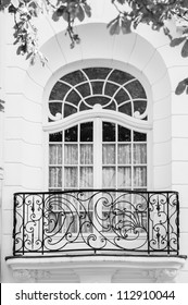 Balcony of the style Art Nouveau