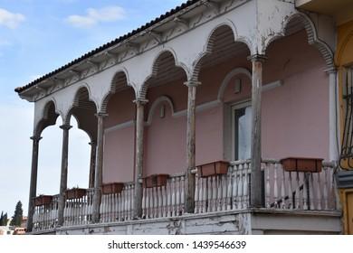 Balcony with Trefoil Cyclorama Segments, Tbilisi, Georgia