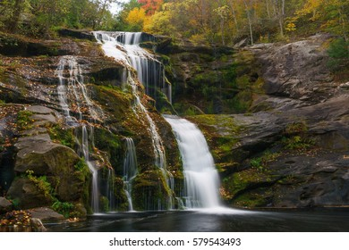Bald River Falls Tellico Plains, Cherokee National Forest Appalachian Mountains, Tennessee